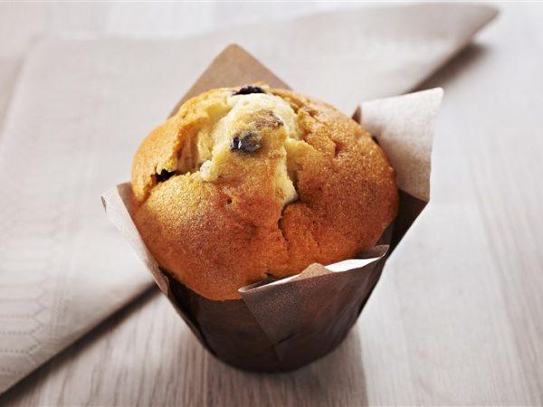 Desserts muffin myrtille